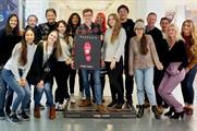 The Wunderman team celebrating winning the Pavegen #Step2Start campaign