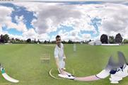 Using an Oculus Rift headset, cricket fans can feel what it would be like to face England fast bowler James Anderson