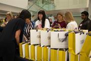 Mamas & Papas distributes goodie bags to delegates