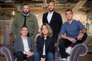 Adam & Eve/DDB: unveiled new management team (left to right, Brim, Falco, Einav, Goff and Hesz)