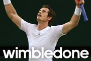 Adidas: celebrates Andy Murray's Wimbledon win