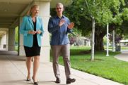 Joining forces: IBM boss Ginni Rometty and Apple chief Tim Cook