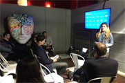 Amplify shared their insights during an experiential huddle
