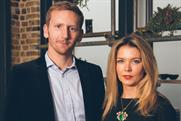 AnalogFolk London: managing director Matt Law with new appointee Kirsty Hathaway