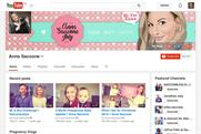 YouTube: stars like Anna Saccone are raking in twice as much traffic as established media channels