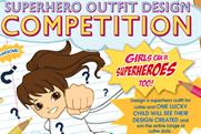 Arklu's 'girls can be superheroes too' competition