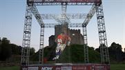 Sky Sports and Now TV create Lions-inspired installation in Cardiff