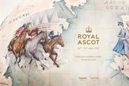Bellerby & Co's Royal Ascot heritage campaign globe. Photographer credit Alun Callender