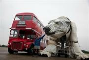 Greenpeace's 'Aurora' puppet is bigger than a double-decker bus