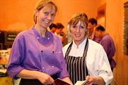 Head chef Joyce O'Hagan with Skye Gyngell