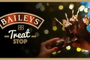 Baileys pop-up encourages people to pimp their drink