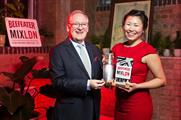 Evelyn Chick from Canada was crowned the winner of Beefeater MIXLDN 2015