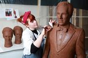 Benedict Chocobatch is in place at Westfield Stratford City (Matt Alexander/PA Wire)