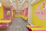 Benefit partners chicken restaurant to promote eyeliner