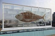 The ice sculpture contains £700 of cash (@AsmitaS21)
