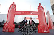 Santander named as new sponsor of 'Boris bikes'