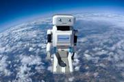 Confused.com's Brian the Robot is one of many brands being sent to space - we're not sure why