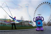 Bubbleman was joined by Dreamworks' Oh