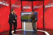 Budweiser's 'Dream goal': tongue-in-cheek competition uses Sky football presenters and is now in its second year