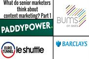 What do senior marketers think about content marketing?