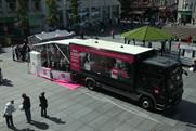 Very's interactive Beauty Bus