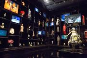 The exhibition features a Cabinet of Curiosities