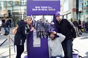 Cadbury Unwrap Gold promotional tour