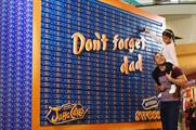 McVitie's Bluewater  installation for Father's Day
