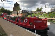 Watch: Campari's narrowboat cocktail pop-up