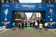 In pictures: Nissan fan experience at UEFA Champions League Final