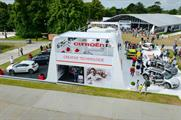 Crown delivered the Citroën stand at last year's festival