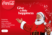 Coca-Cola: adds personalisation to the Christmas 2014 campaign