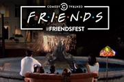 Comedy Central's FriendsFest experience proved popular with fans
