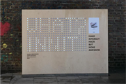 Daniel Hirschmann created an interactive piece for north London (@hirschandmann)
