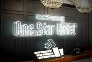 Converse creates 'One star hotel'