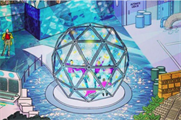 Crystal Maze has uploaded an artist's impression of the experience to its Instagram (@thecrystalmaze)