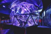 The experience's finale is - of course - the giant glass dome challenge