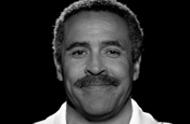 Daley Thompson...appears in new JWT ad for Nestle