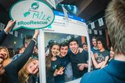 Students can enter to win free t-shirts and Deliveroo credit