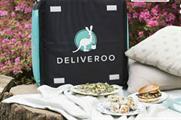 Deliveroo opens pop-up 'secret garden'