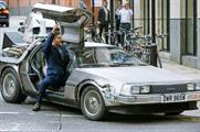 Users can request the DeLorean through the Uber app