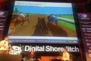 William Hill: demoing 'Get in the Race' at Digital Shoreditch