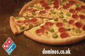 Domino's new American Hot pizza