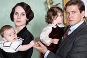 Downton Abbey: recorded an average audience of 9.5 million on Sunday