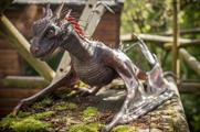 The animatronic creature at Belfast Zoo has been inspired by Daenerys' dragons