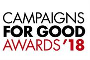 Celebrating creativity with heart: PRWeek, Campaign and Third Sector launch Campaigns for Good Awards