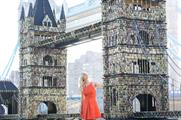 Pollyanna Woodward fronted the experiential campaign