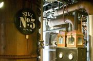 The Jack Daniel's distillery in Lynchburg