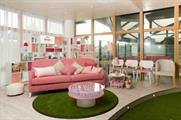 Evian redesigned the space for the 2015 championships