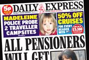 Daily Express: owner Northern & Shell restructures sales team to integrate print and digital operations